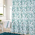 Jade Shower Curtain in Aqua