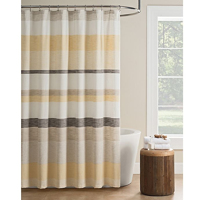 KAS Seneca Stripe Shower Curtain