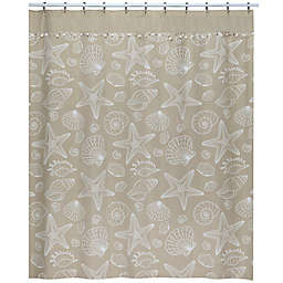 Ipanema Shower Curtain in Natural