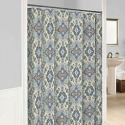 Marble Hill Ahana Shower Curtain in Teal