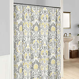 Marble Hill Rayna Shower Curtain in Grey