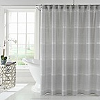 Zona Shower Curtain in Grey