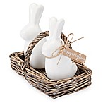 Mud Pie® Bunny Salt and Pepper Shakers