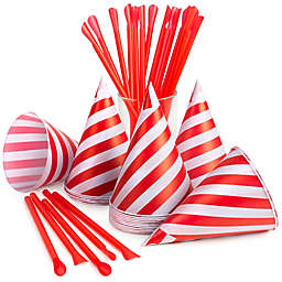 Nostalgia™ 40-Count Snow Cone Straws and Cups