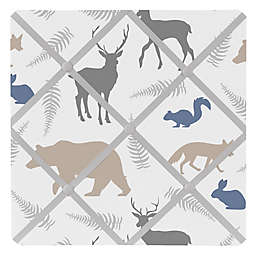 Sweet Jojo Designs Woodland Animals Fabric Memo Board
