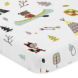 Sweet Jojo Designs® Outdoor Adventure Mini-Crib Sheet