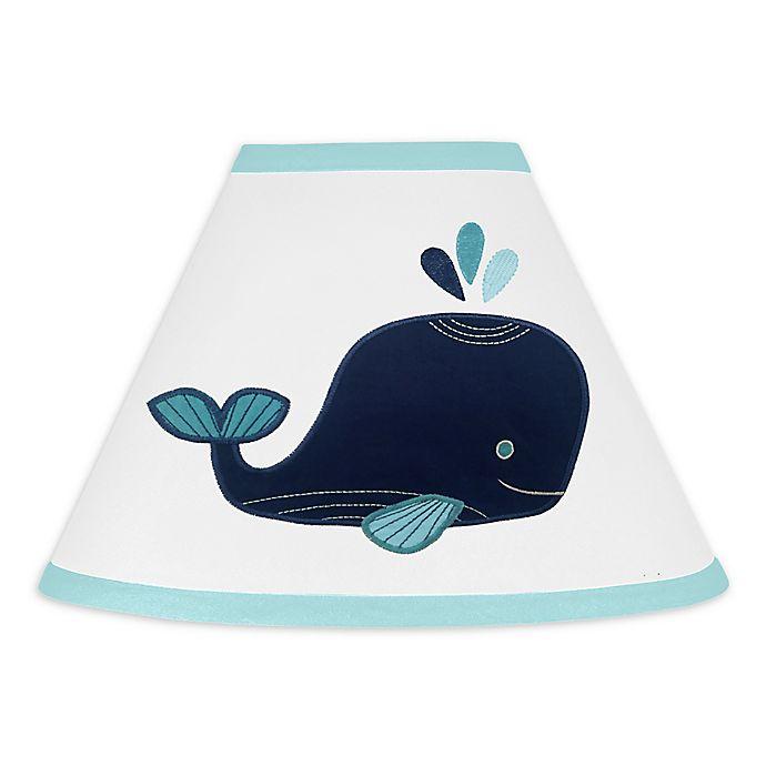 Alternate image 1 for Sweet Jojo Designs® Whale Lamp Shade