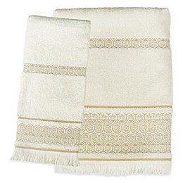 Saturday Knight Elephant Walk Bath Towel Collection in Natural