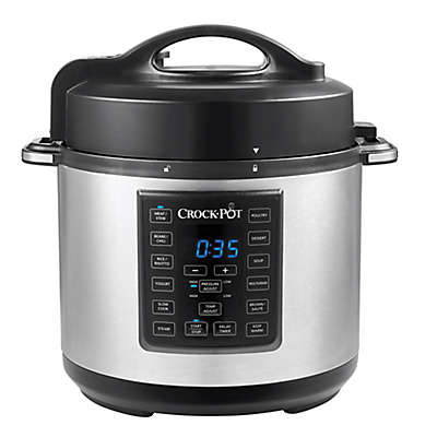 Crock-Pot® 6 qt. Express Crock Multi-Cooker in Stainless Steel