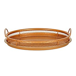 Original Copper Nonstick 12-Inch Pan Crisper