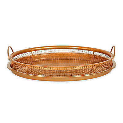 Original Copper Nonstick 12-Inch Pan Crisper