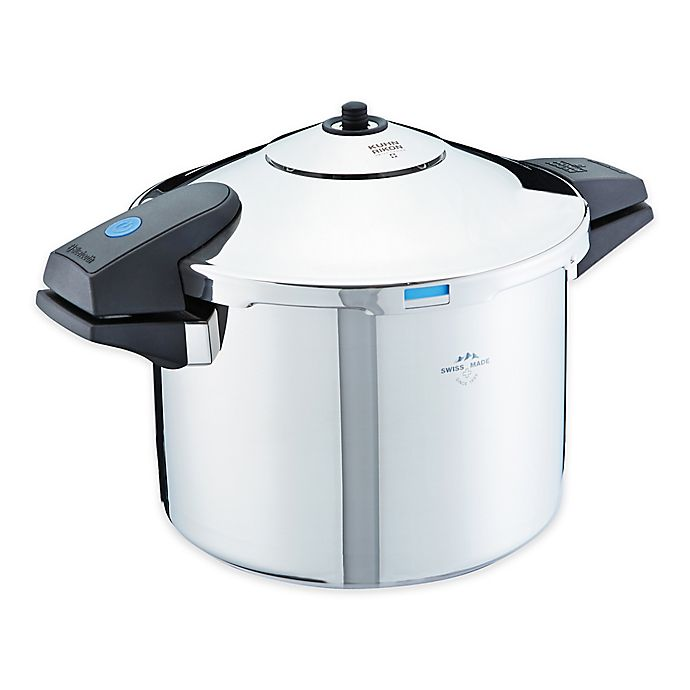 Alternate image 1 for Kuhn Rikon Duromatic® Comfort 8.4 qt. Pressure Cooker with Bluetooth® Connectivity