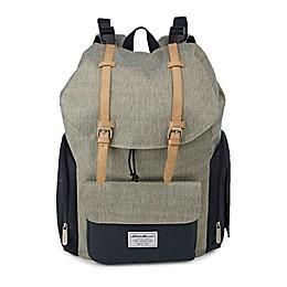 Eddie Bauer® Backpack Diaper Bag in Green/Navy