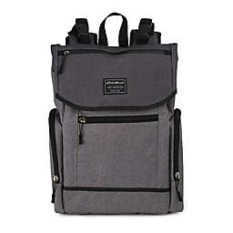 Eddie Bauer® Echo Bay Backpack Diaper Bag in Grey/Black