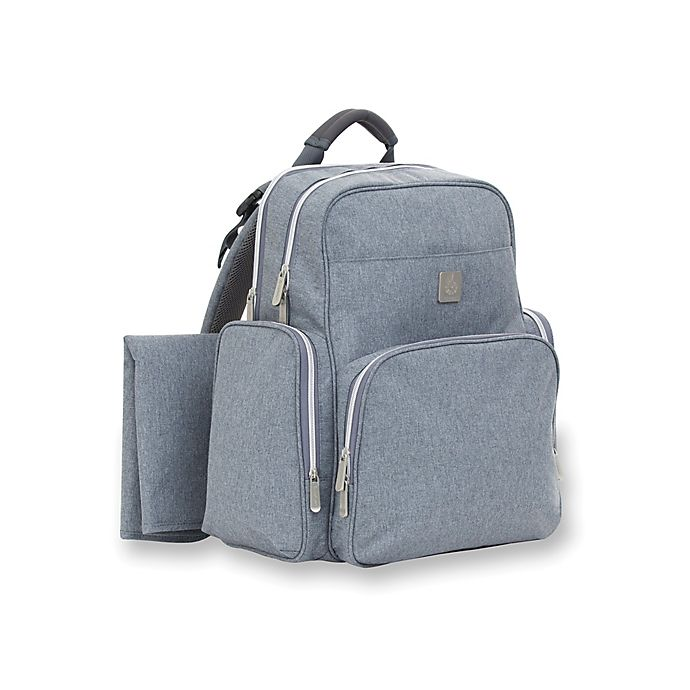 Alternate image 1 for ErgoBaby™ Coffee Anywhere I Go Backpack Diaper Bag in Heather Grey