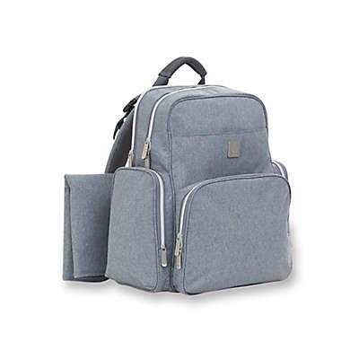 ErgoBaby™ Coffee Anywhere I Go Backpack Diaper Bag in Heather Grey