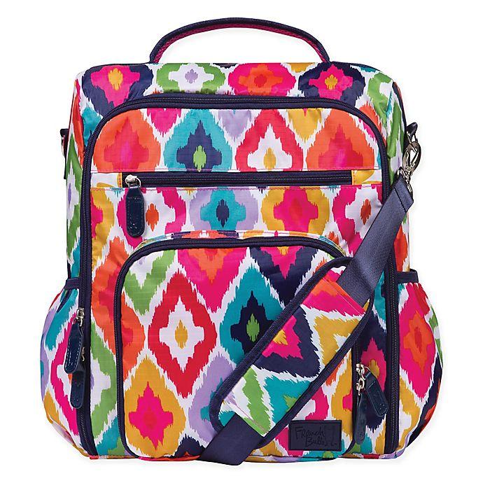 Alternate image 1 for French Bull® Kat Convertible Backpack Diaper Bag