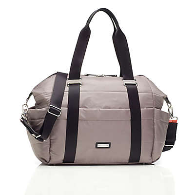 Storksak® Sandy Diaper Bag in Taupe