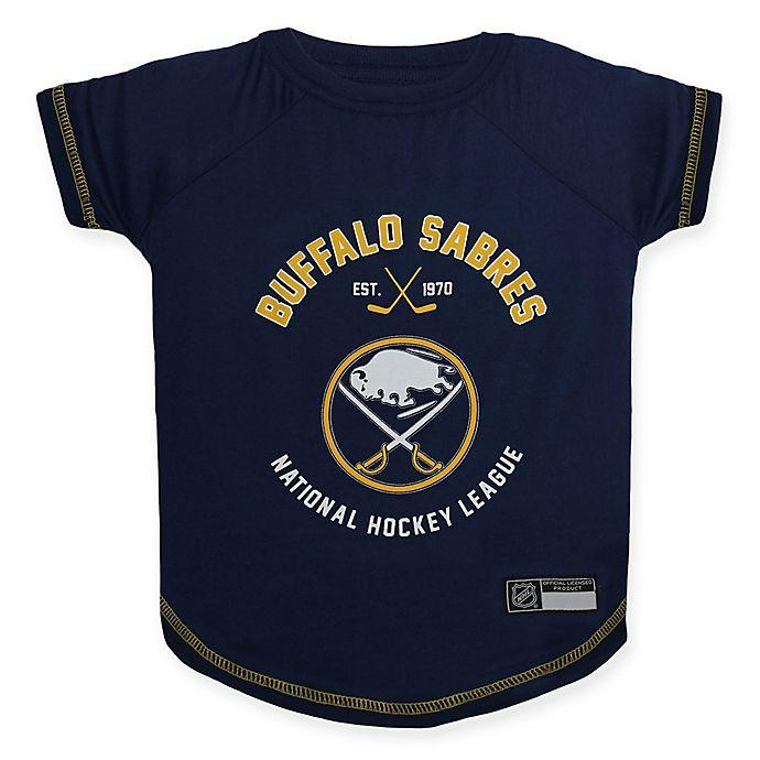 Alternate image 1 for NHL Buffalo Sabres Medium Pet T-Shirt