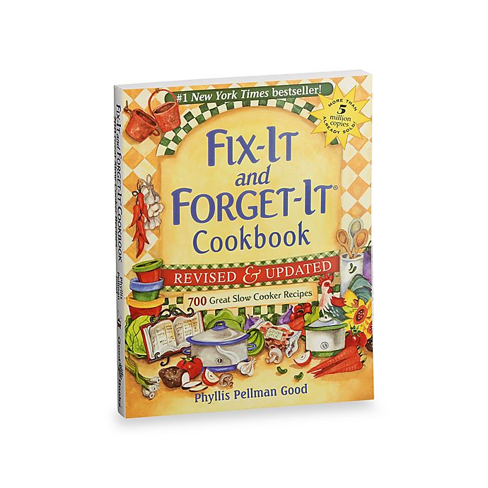 Alternate image 1 for Fix-It and Forget-It® Cookbook Revised and Updated