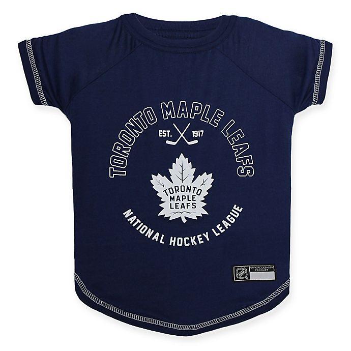 Alternate image 1 for NHL Toronto Maple Leafs Medium Pet T-Shirt