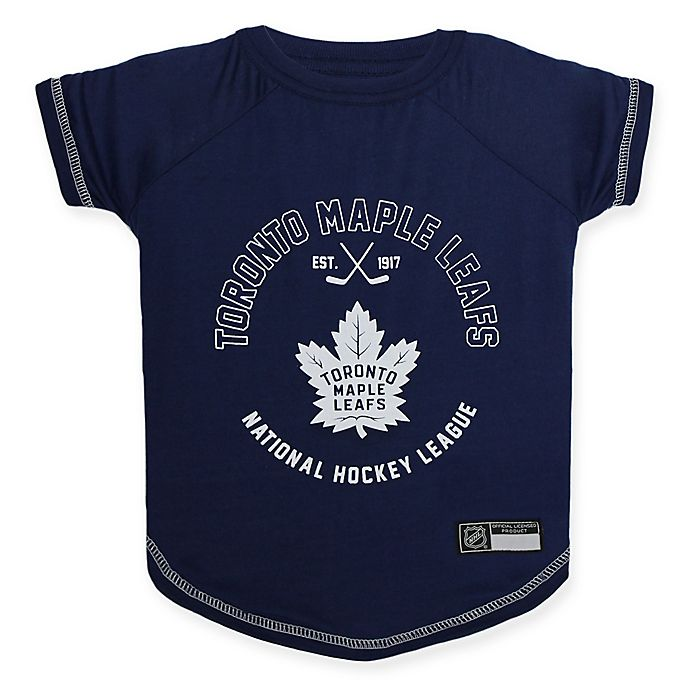 Alternate image 1 for NHL Toronto Maple Leafs Small Pet T-Shirt