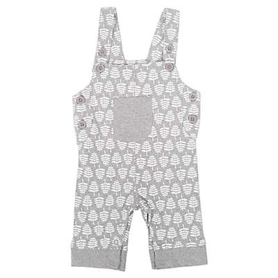 Coyote and Co. Tree Overall in Grey/White