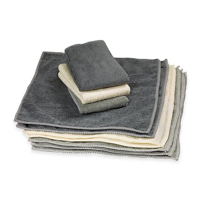 Alternate image 1 for The Original™ Microfiber Cleaning Towels in 10 Pack
