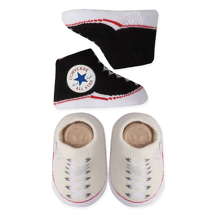 Alternate image 1 for Converse 2-Pack Chuck Booties in Black