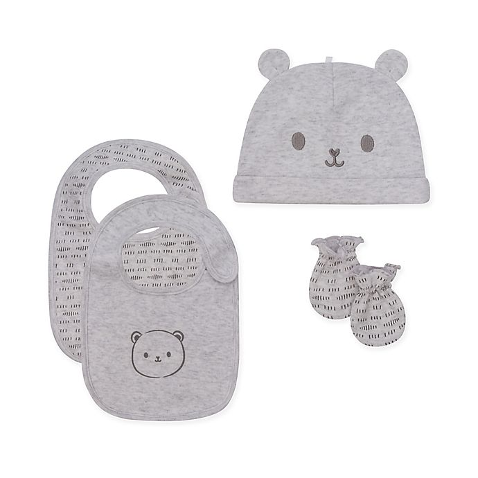 Alternate image 1 for Petit Lem™ 3-Piece Bear Accessory Set in Grey