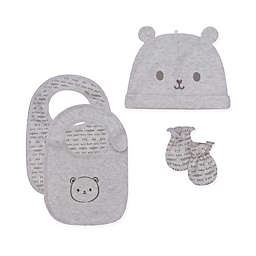 Petit Lem™ 3-Piece Bear Accessory Set in Grey