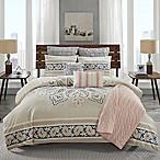 INK+IVY Sky Full/Queen Comforter Set in Blush Pink