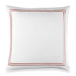 Wamsutta® Hotel Triple Baratta Stitch European Pillow Sham in Coral