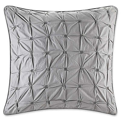 INK+IVY Sky European Pillow Sham in Grey