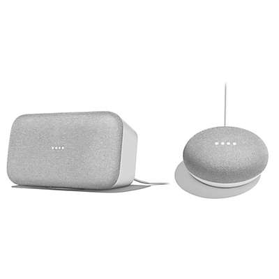 Google Home Max with Google Home Mini Bundle