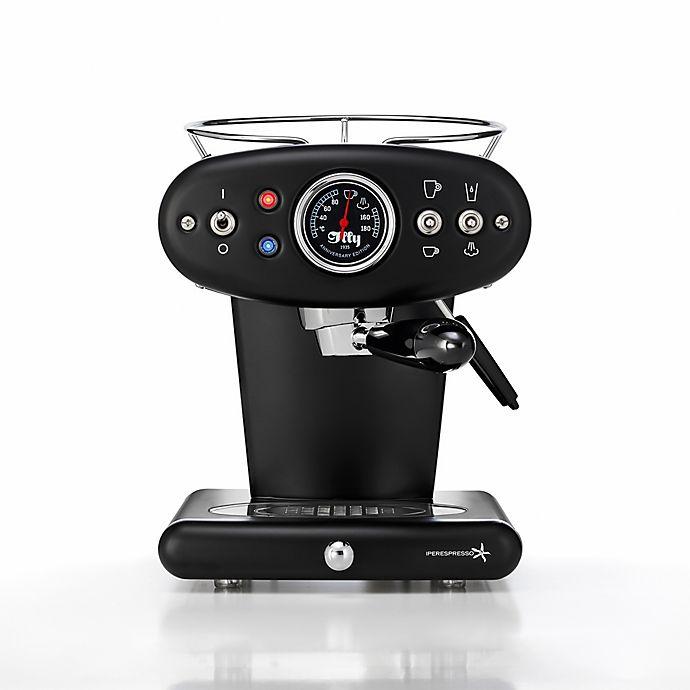 Alternate image 1 for illy® X1 Anniversary Single Serve Espresso & Coffee Maker in Black