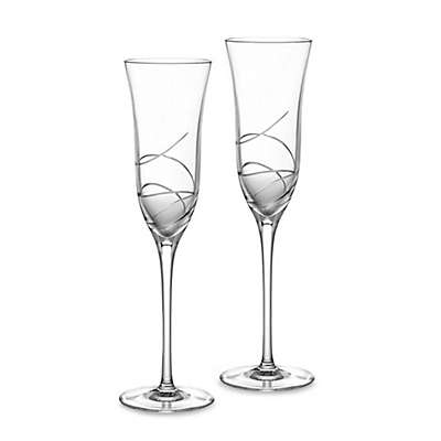 Waterford® Ballet Ribbon Essence Champagne Flutes (Set of 2)