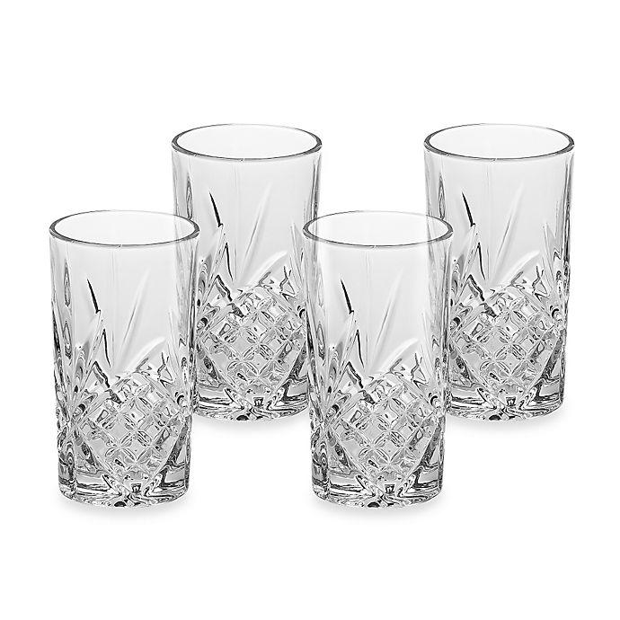 Alternate image 1 for Godinger® Dublin Highball Glasses (Set of 4)