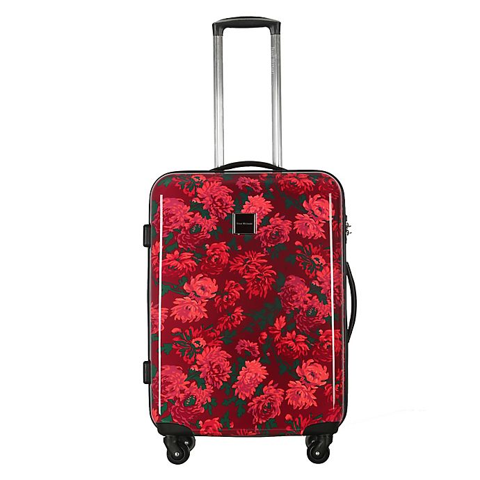Alternate image 1 for Isaac Mizrahi Irwin II 22-Inch Hardside Spinner Carry On Luggage in Berry