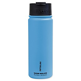 FIFTY/FIFTY Vacuum Insulated 18 oz. Water Bottle with Flip Cap in Blue