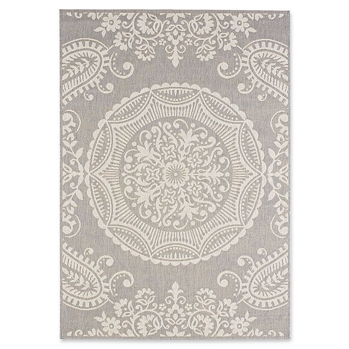 Alternate image 1 for Balta Home Highlands Indoor/Outdoor 5'3 x 7'4 Area Rug in Grey