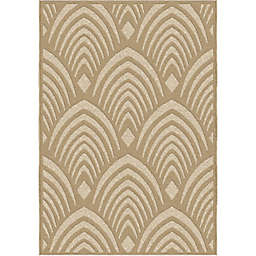 Orian Rugs Boucle Bella Vista Woven Area Rug in Driftwood