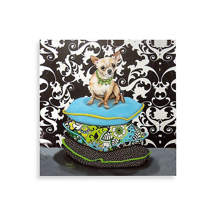 Alternate image 1 for Chihuahua on Pillows I Wall Art