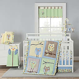 New Country Home Mod Owl 4-Piece Crib Bedding Set