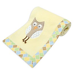 New Country Home Mod Owl Plush Blanket