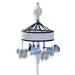 Just Born® Dream Musical Mobile in Navy/Grey