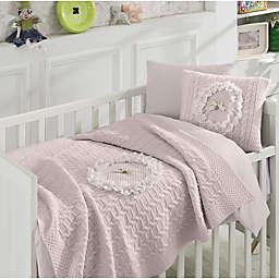 Nipperland® Floral 6-Piece Crib Bedding Set in Pink