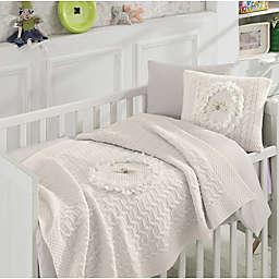 Nipperland® Floral 6-Piece Crib Bedding Set in Cream