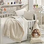Nipperland® Natural 6-Piece Crib Bedding Set in Beige