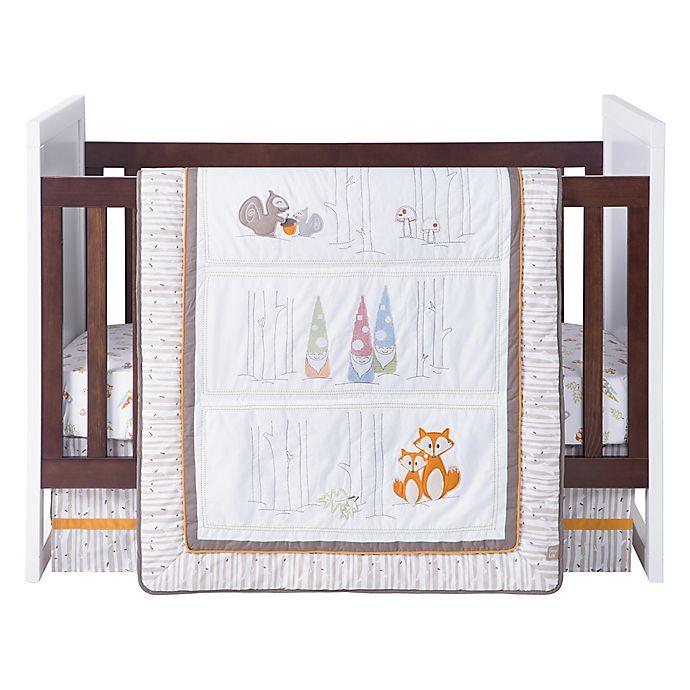Alternate image 1 for Trend Lab® Gnome Boy 4-Piece Crib Bedding Set
